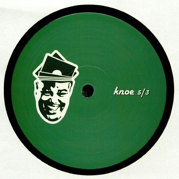 """( KNOE 5/3 ) Derek CARR - KNOE 5/3 (140 gram vinyl 12"""" repress) For Those That Knoe"""