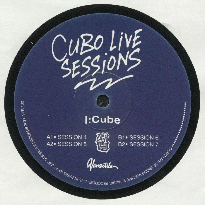 "( VER 132 )  I CUBE - Cubo Live Sessions: Vol 2 (12"") Versatile France"