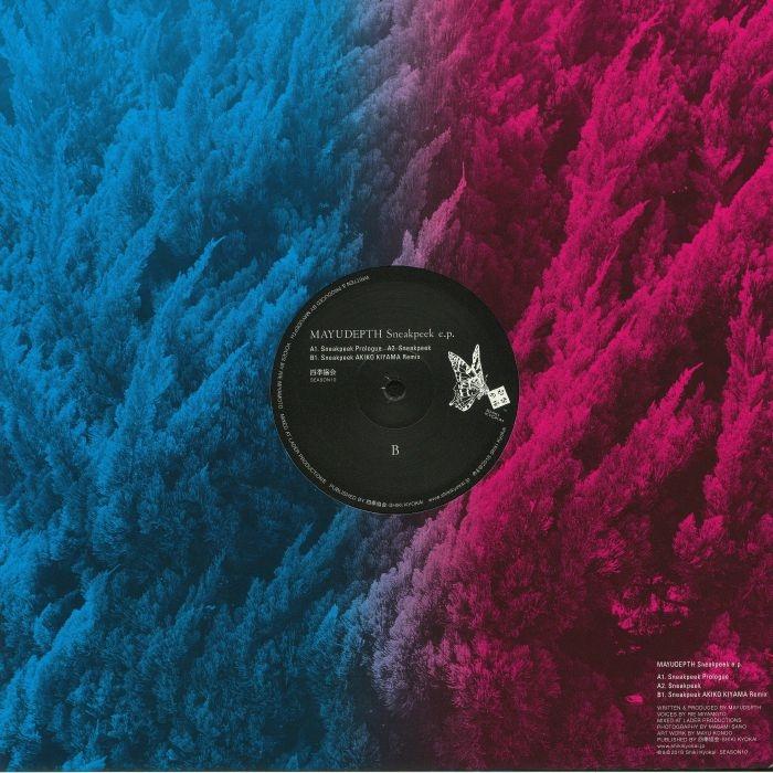 "( SEASON 010 ) MAYUDEPTH - Sneakpeek EP (12"") - Shiki kyokai Japan"