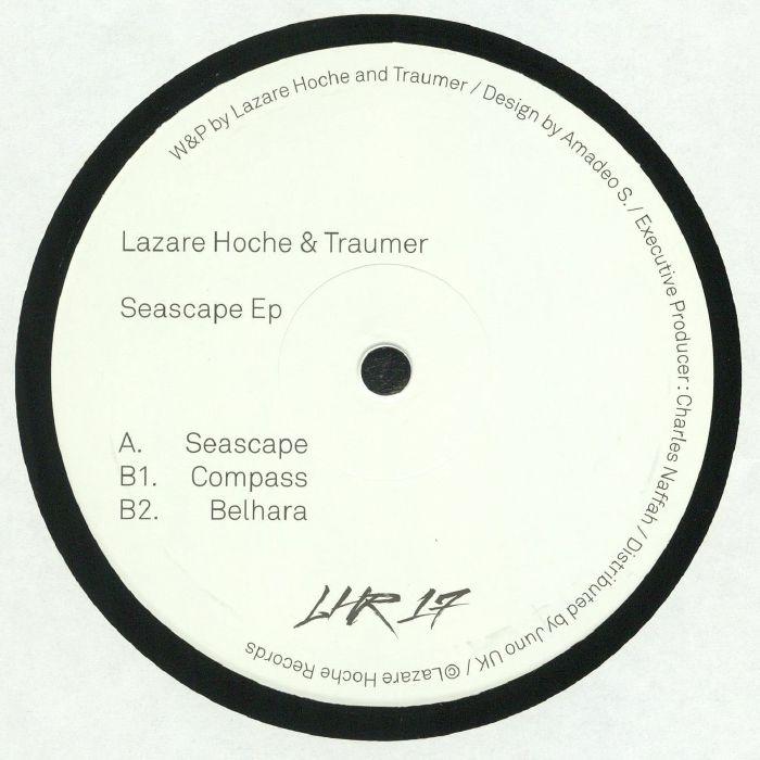 """( LHR 17 ) LAZARE HOCHE / TRAUMER - Seascape (180 gram vinyl 12"""") Lazare Hoche France"""