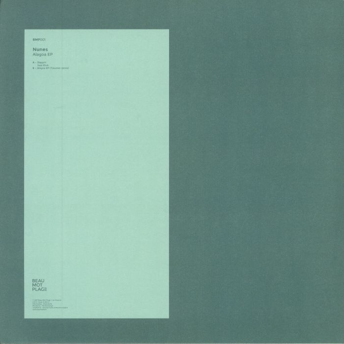 "( BMP 001) NUNES -Alagoa EP (12"")  Beau Mot Plage France"