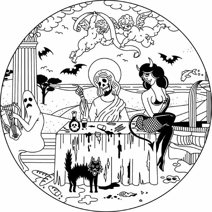"""( V&T 002 ) VOODOOS & TABOOS - Ancient Brothel (12"""") Voodoos & Taboos Germany"""