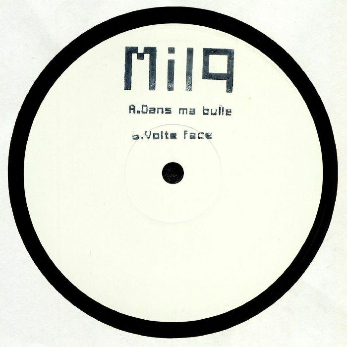 """( MILQ 001 ) MILQ - Dans Ma Bulle (hand-stamped 12"""") Milq"""