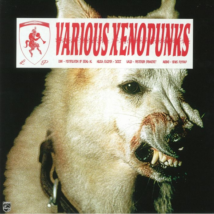 "( LESPOINTS 011 ) LOUH / NICOLA KAZIMIR / WALID / AUDINO - Various Xenopunks (12"") Les Points"