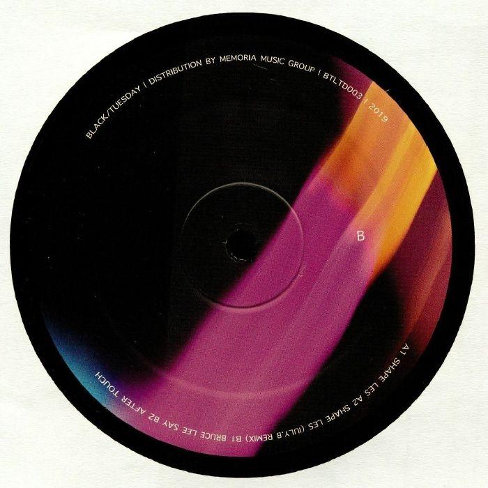 "( BTLTD 003 ) KIRIK - Shape Les (12"") Black/Tuesday Limited"