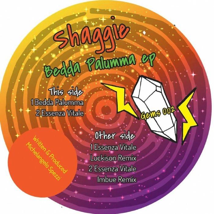 "( GEMS 002 ) SHAGGIE - Bedda Palumma EP (12"") Rare Gems Italy"