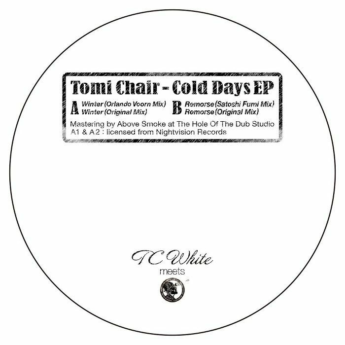 """( TCW 2 ) Tomi CHAIR - Cold Days EP (12"""") TC White Japan"""