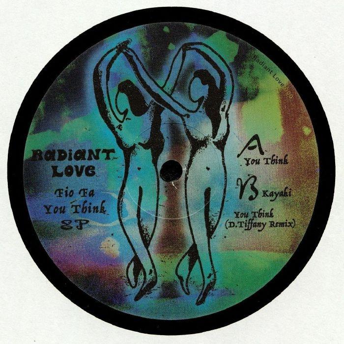 "( RADIANTLOVE 000 ) FIO FA - You Think (heavyweight vinyl 12"") Radiant Love Germany"