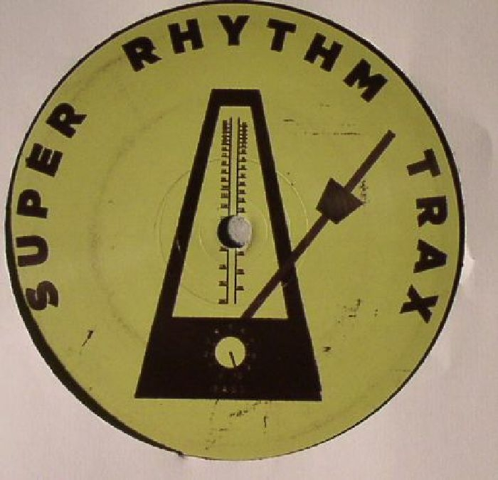 """( SRTX 008 ) Luca LOZANO - Outer Space EP (12"""") Super Rhythm Trax"""