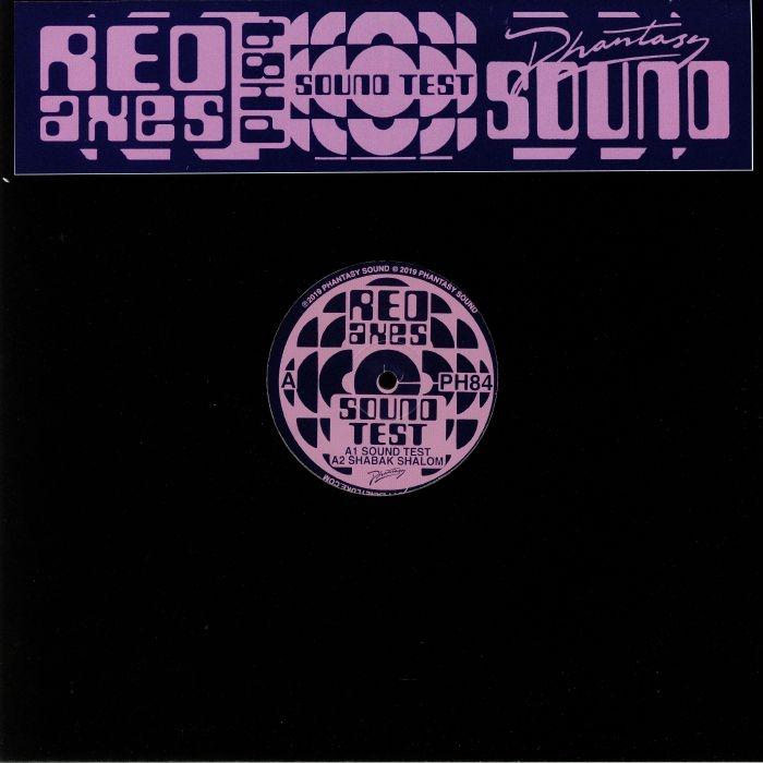 """( PH 84 ) RED AXES - Sound Test (12"""" repress) Phantasy Sound"""