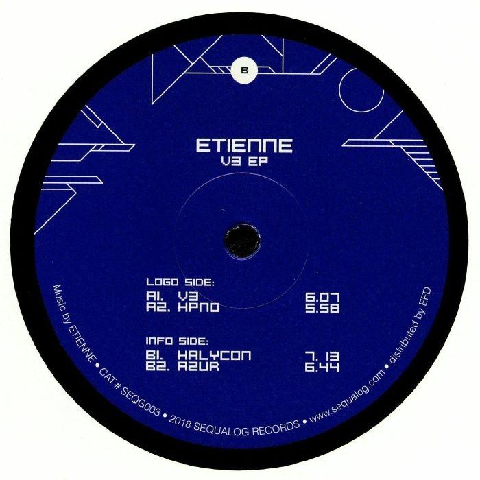 """( SEQG 003 ) ETIENNE - V3 EP (12"""") Sequalog France"""