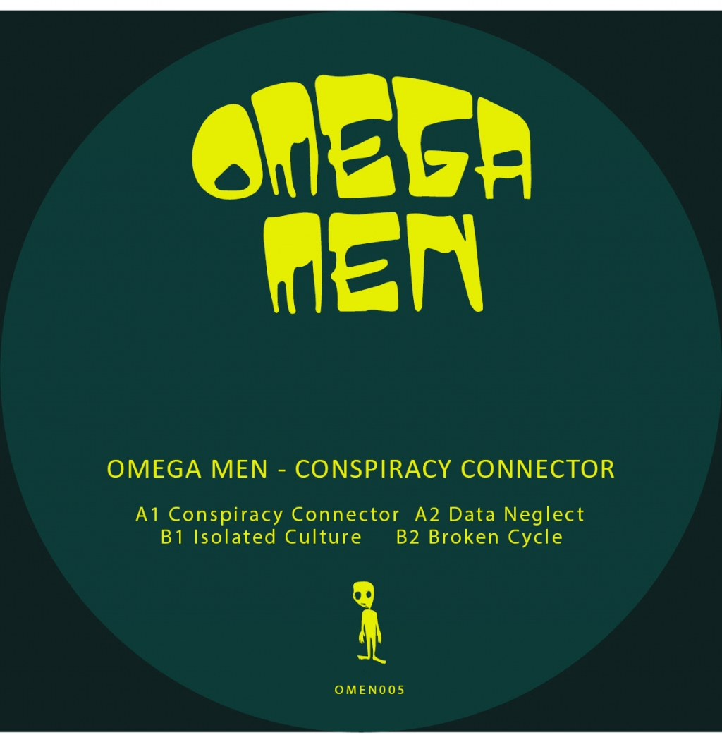 "( OMEN 005 ) OMEGA MEN - Conspiracy Connector (12"") Omega Men"