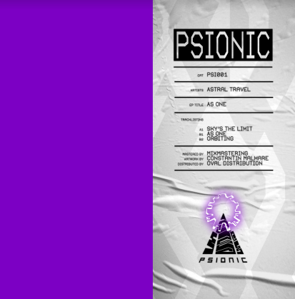 """( PSI 001 ) ASTRAL TRAVEL - As one (12"""") Psionic"""