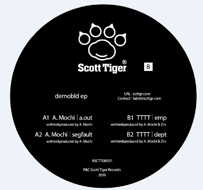 "( SCTTGR 001 ) A MOCHI / TTTT - Demobld EP (12"") Scott Tiger Japan"