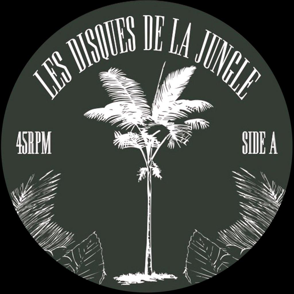 """( LDDLJ 002 ) Fsk / Felix Dulac / Nils -  Les Disques De La Jungle 002 (LTD COPIES 12"""") Les Discques De La Jungle"""