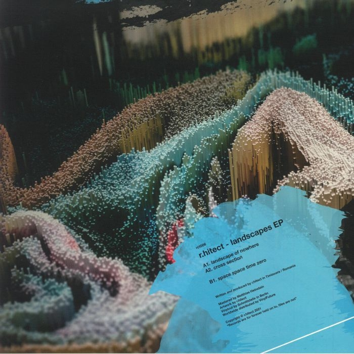 """( RCT 006 )  R HITECT - Landscapes EP (limited 12"""") r.hitect"""