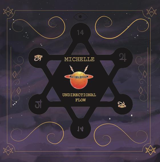 """( MOJ 14 ) MICHELLE - Undirectional Flow (12"""") My Own Jupiter"""