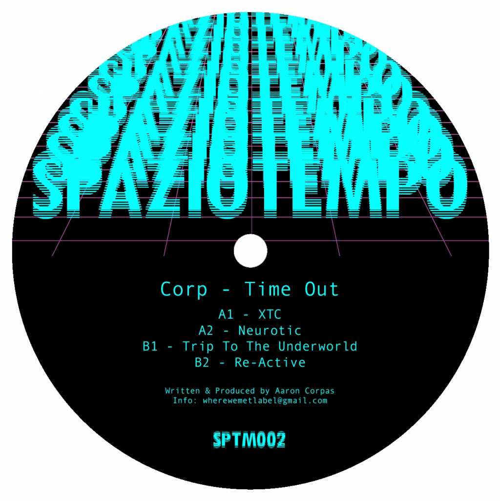 "( SPTM 002 ) CORP - Time Out (12"") Spaziotempo Italy"