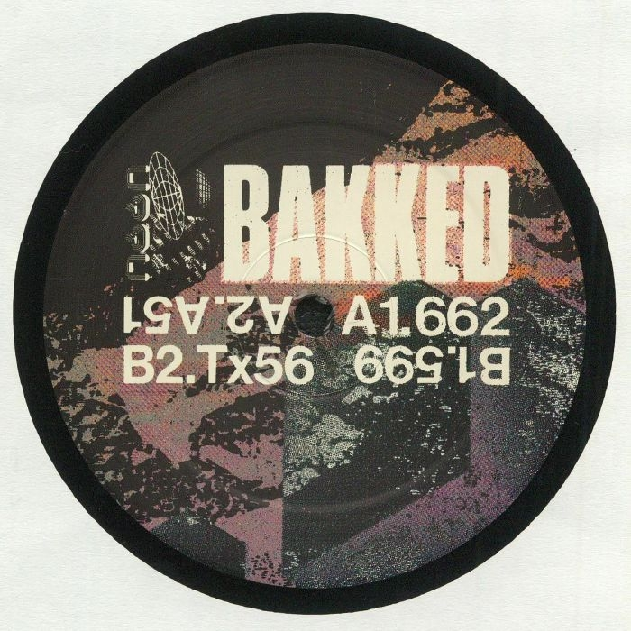 """( UTTU 107 ) BAKKED - Riot EP (12"""") Unknown To The Unknown"""