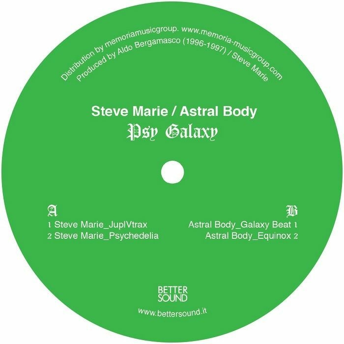 "( BS 04 ) Steve MARIE / ASTRAL BODY - Psy Galaxy (12"") Better Sound Italy"