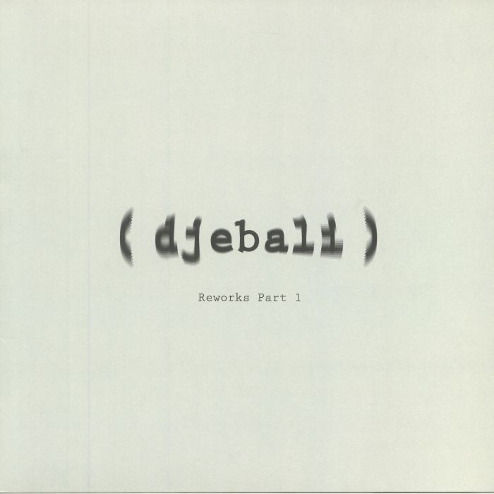 "(  DJEBRW 00A )  DJEBALI - Album Reworks Part 1 (12"") Djebali France"