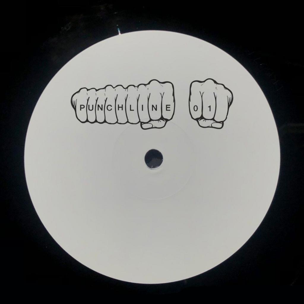 "( PUNCHLINE 01 ) Various Artists - PUNCHLINE01 (12"") 1 x customer-  Ba Dum Tish"