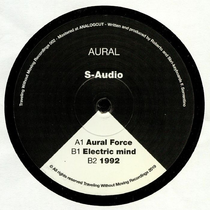 """(  TWM 002 ) S AUDIO - Aural (12"""") Traveling Without Moving"""