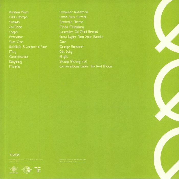 ( TE 004 ) VARIOUS - Touched Electronix 004 (green vinyl 2xLP) Touched Electronix