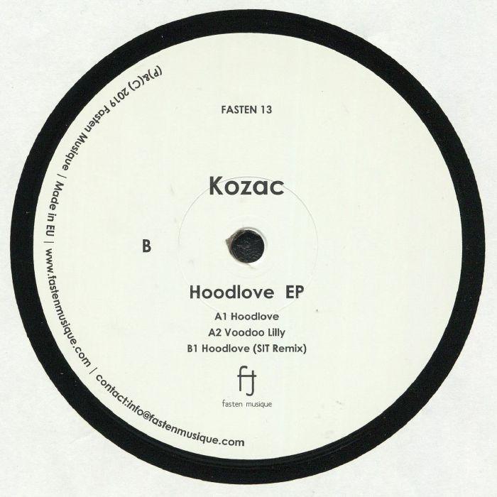 "( FASTEN 13 ) KOZAC - Hoodlove EP (12"") Fasten Musique Japan"