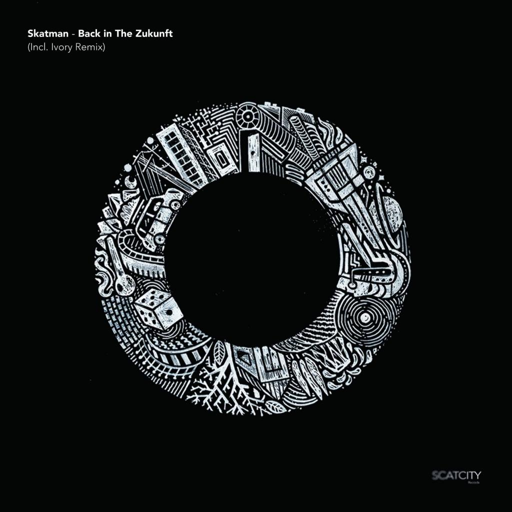 "( SCAT 05 ) SKATMAN - Back In The Zukunft Incl.ivory Remix (12"") Scatcity Records"