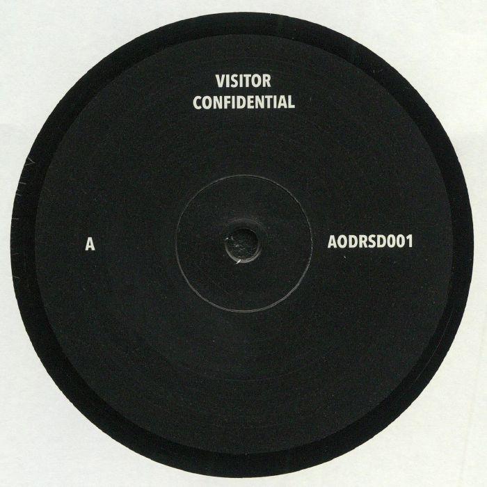 """( AODRSD 001 ) VISITOR - Confidential (12"""") Art Of Dark"""