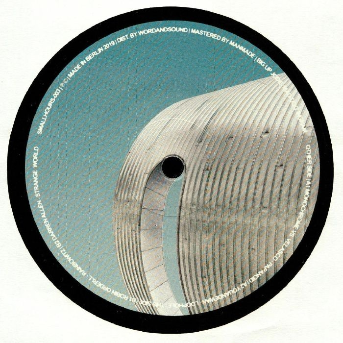 "( SMALLHOURS 003 )  MONOCHROME vs VELASCO / YOUANDEWAN / ROBIN ORDELL / DARREN ALLEN - SMALLHOURS 003 (12"") Small Hours"