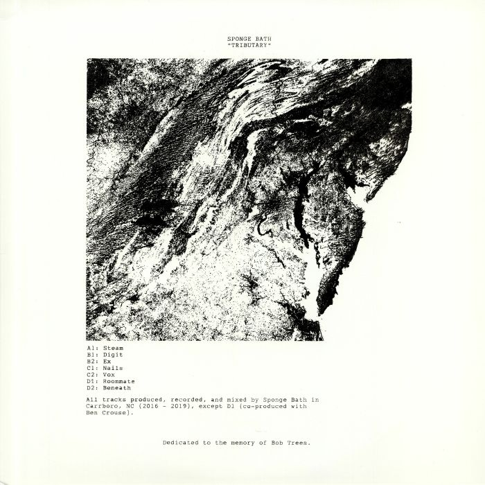 """( ACTIV 0015 ) SPONGE BATH - Tributary (hand-stamped double 12"""" limited to 200 copies) Activ Analog"""