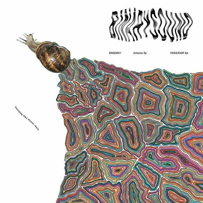 """( BNSD 001 ) Antoine SY - H0SS3G0R EP (12"""") BinarySound"""