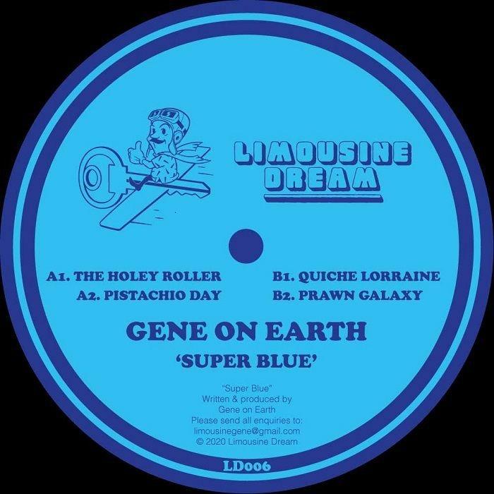 """( LD 006 ) GENE ON EARTH - Super Blue (12"""") Limousine Dream"""
