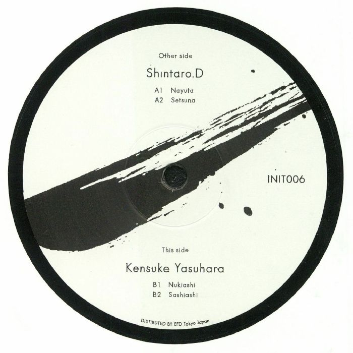 "( INIT 006 ) SHINTARO D / KENSUKE YASUHARA - INIT 006 (12"") INIT"