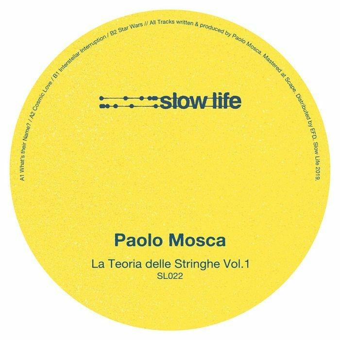 """(  SL 022 ) Paolo MOSCA - La Teoria Delle Stringhe Vol 1 (12"""") Slow Life"""