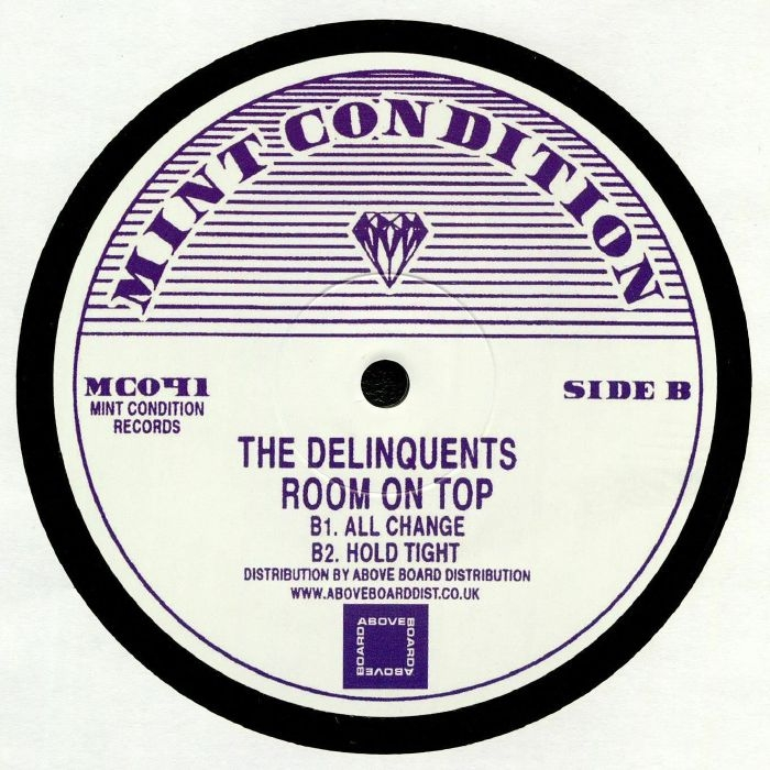 "( MC 041 ) The DELINQUENTS - Room On Top (12"") Mint Condition"