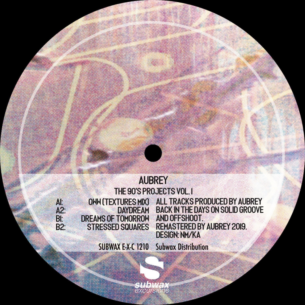 ( SUBWAX EXC 1210 ) Aubrey -The 90's Projects Vol. 1 -  Subwax Excursions