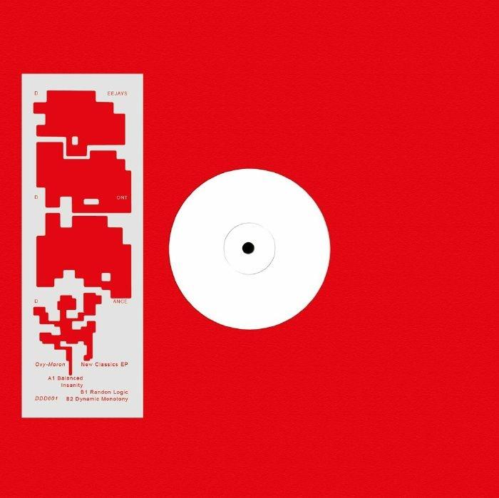 "( DDD 001 ) OXY MORON - New Classics EP (12"") Deejays Don't Dance Germany"