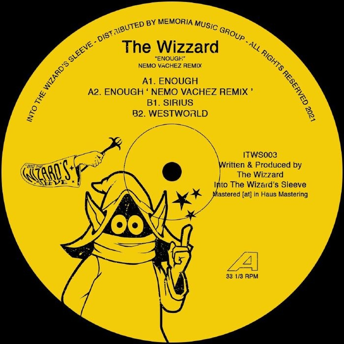 """( ITWS 003 )The WIZZARD -Enough (12"""") Into The Wizard's Sleeve"""