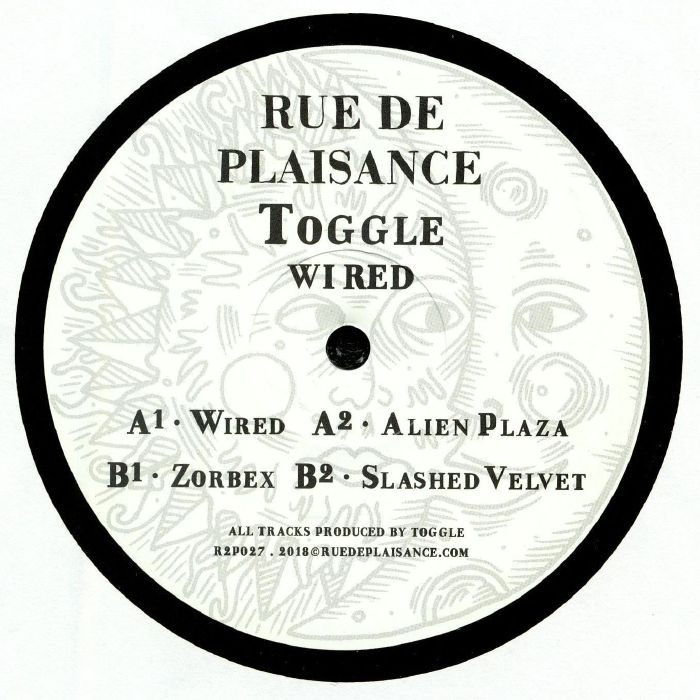 "( R2P 027 ) TOGGLE - Wired (heavyweight vinyl 12"") Rue De Plaisance France"