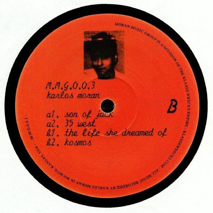 """( MMG 003 ) Karlos MORAN - MMG 003 (180 gram vinyl 12"""") Moran Music Group Germany"""