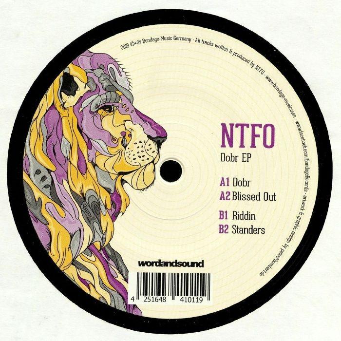 """( BOND 12049 ) NTFO - Dobr EP (heavyweight vinyl 12"""") Bondage Germany"""