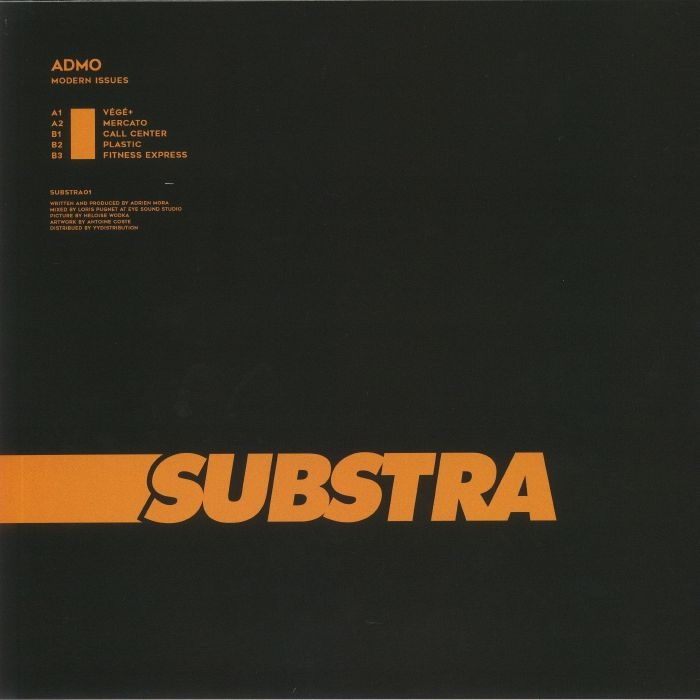 """(  SUBSTRA 01 ) ADMO - Modern Issues (12"""") Substra France"""