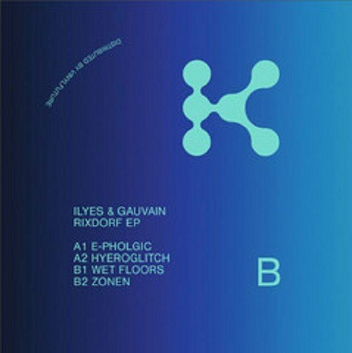 """( KRB 003 ) ILYES / GAUVAIN - Rixdorf EP (12"""") Kaizen Berlin"""