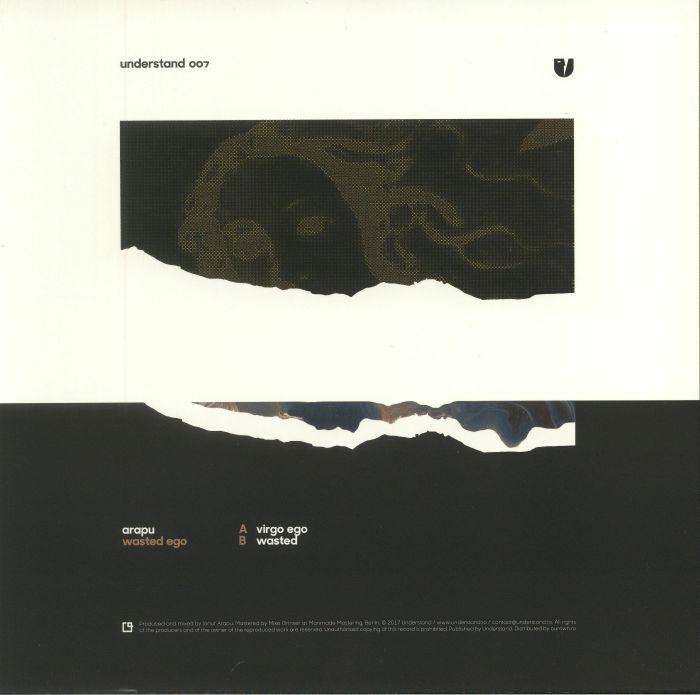 """( UND 007 ) ARAPU - Wasted Ego (limited heavyweight vinyl 12"""") Understand Romania"""