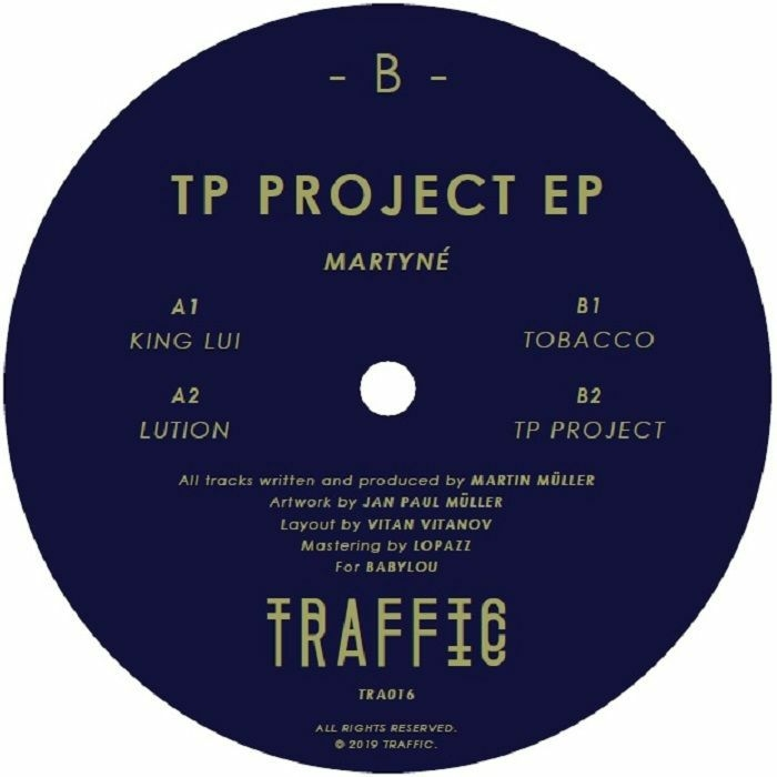 """( TRAFFIC 016 ) MARTYNE - TP Project EP (12"""") Traffic"""