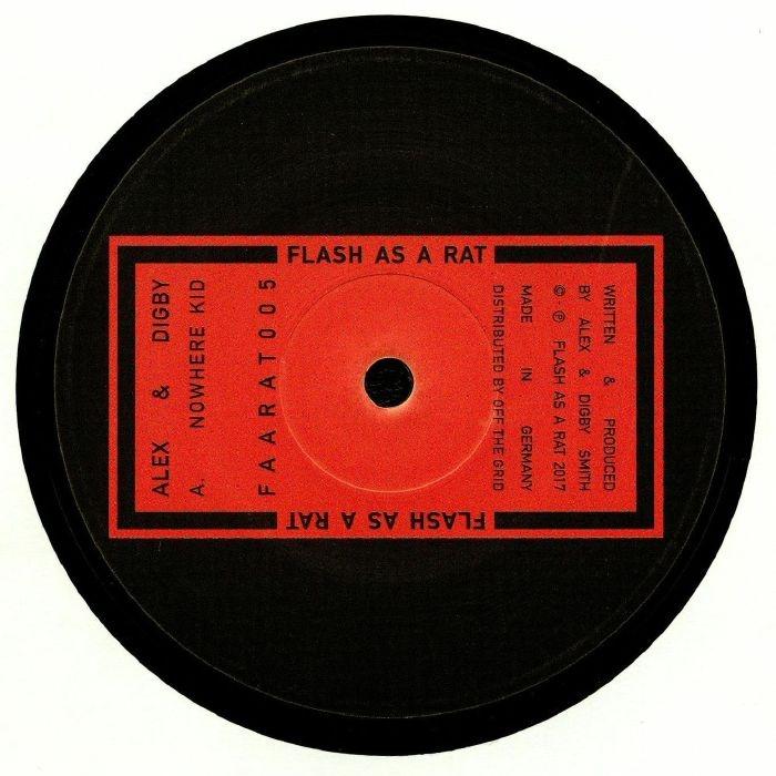 "( FAARAT 005 ) ALEX & DIGBY - FAARAT 005 - (12"") - Flash As A Rat"