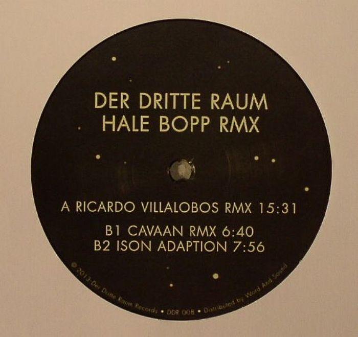 "( DDR 008 ) DER DRITTE RAUM - Hale Bopp (remixes) (12"") Der Dritte Raum"
